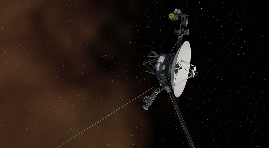 Voyager 2 probe into interstellar space