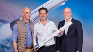 Blue Origin New Glenn Telesat