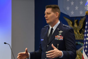 Lt. Gen. David Thompson, vice commander of Air  Force Space Command. Credit: Air Force