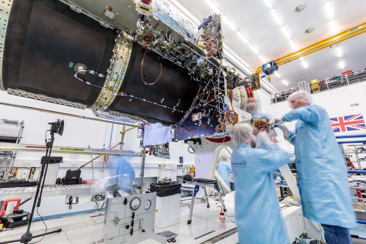 SSTL Eutelsat Quantum