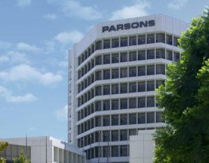 Parsons headquarters in Pasadena, California. Credit: Parsons