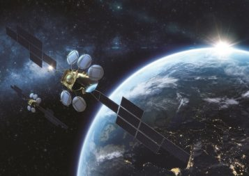 Eutelsat is replacing three satellites with two, using advances like electric propulsion to do more with less. Credit: Airbus Defence and Space