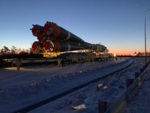 Russia has labored for years to bring its new Vostochny Cosmodrome online. In the early morning hours of Dec. 24, a key milestone was passed with the rollout of the spaceport's first semi-commercial launch. The launch went off perfectly Dec. 27, but many questions about the future of the launch facility — intended to replace the Baikonur Cosmodrome — linger amid economic turmoil and shifting priorities for the Russian space program. Credit: Matthew Bodner for SpaceNews
