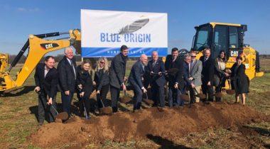 Blue Origin HSV groundbreaking