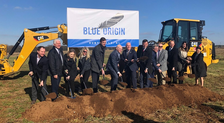Blue Origin HSV groundbreaking