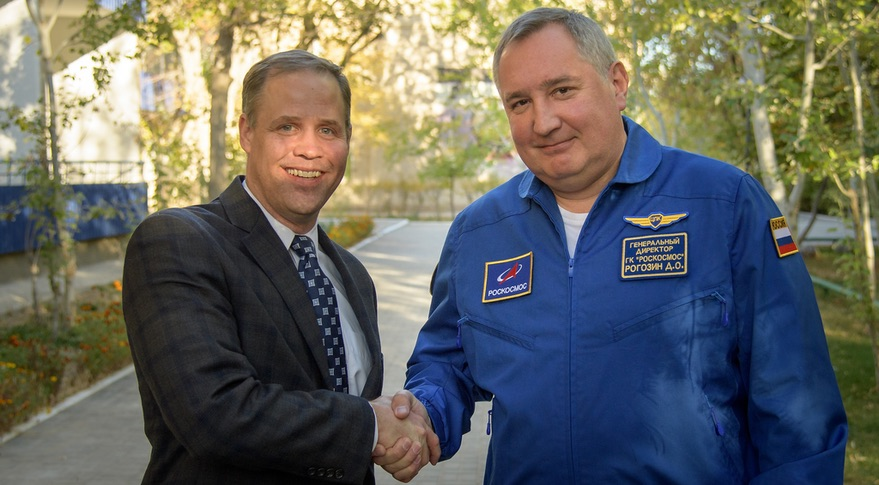Bridenstine and Rogozin
