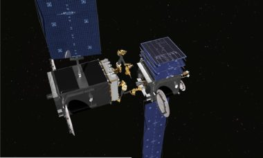 Maxar planned to build and commercialize DARPA's RSGS servicer, which would have helped jumpstart the satellite servicing industry. Credit: DARPA.