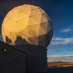 Ground antenna at Schriever Air Force Base, home of the 50th Space Wing.  Credit: Air Force