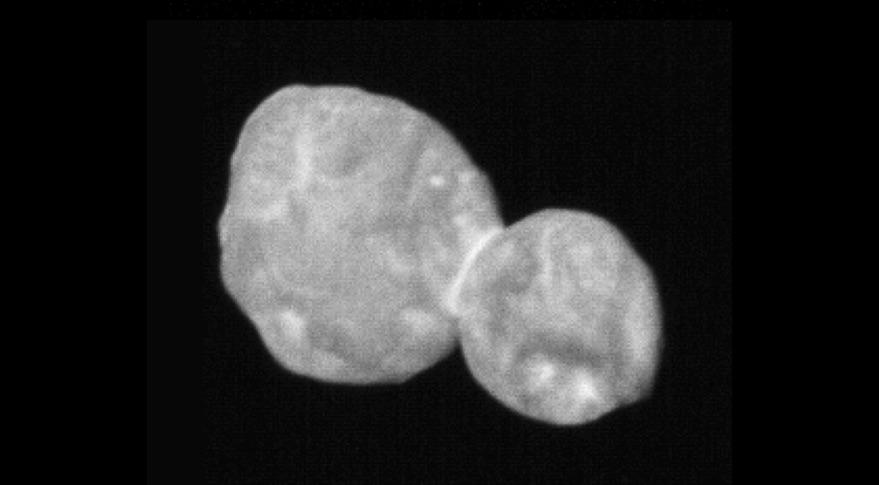 2014 MU69 contact binary