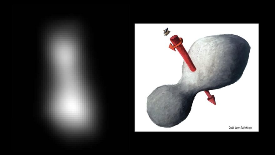 MU69 shape and sketch