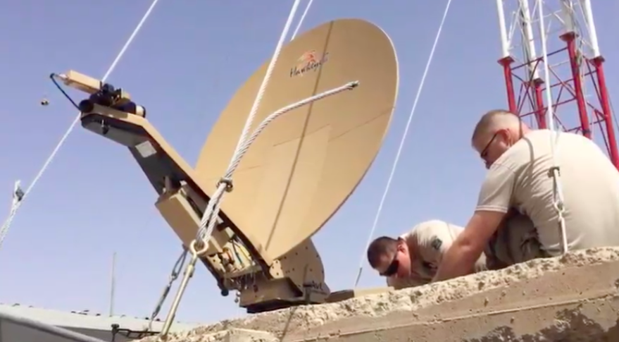 Special Operations Forces Deployable Node satellite communications terminal. Credit: L3