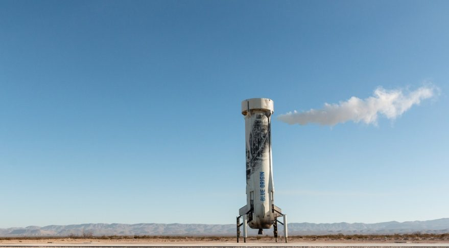 Blue Origin launches New Shepard rocket with NASA payloads