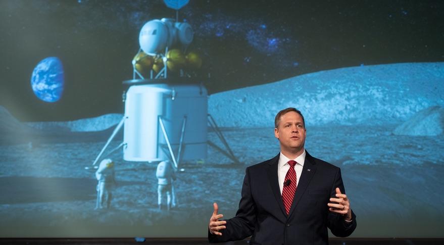 Bridenstine lunar lander