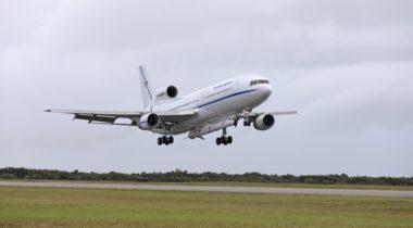 Pegasus Stargazer landing at KSC