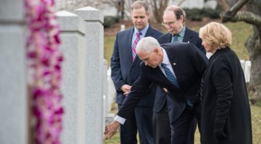 Pence Day of Remembrance event