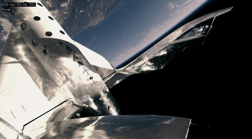 Virgin Galactic Takes First Passenger On Suborbital Test