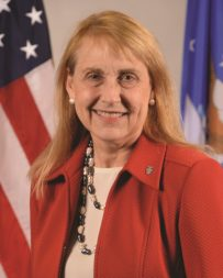 Elizabeth Durham-Ruiz is STRATCOM's director of command, control, communications and computer systems. Credit: U.S. Strategic Command
