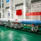 The first OS-M series rocket in Xi'an, north China. Credit: OneSpace