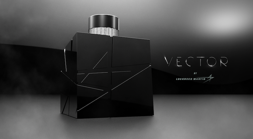 Lockheed Martin expanded its business line when it introduced Vector by Lockheed Martin, the aerospace prime contractor's first fragrance. Credit: Lockheed Martin