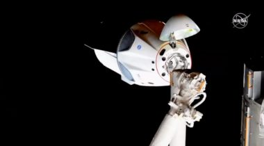 Crew Dragon ISS docking