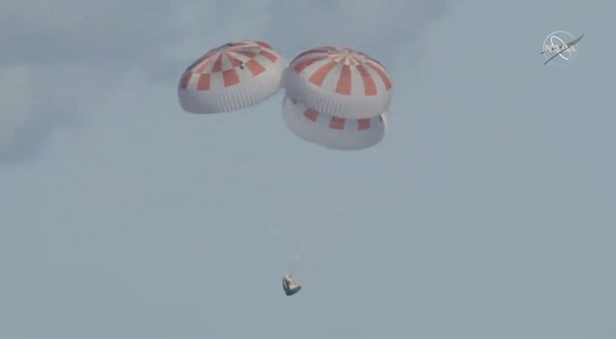 SpaceX Crew Dragon capsule undocks from ISS on way to Earth