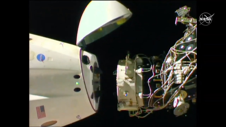Demo-1 undocking