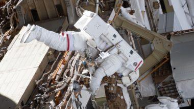 McClain spacewalk
