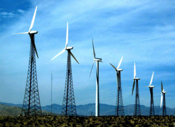 Wind Energy, Southern California by Spiros Vathis - used under Flickr Generic-Attribution license