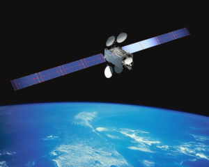 Intelsat-29e, launched in January 2016, was declared a total loss April 18, 2019, after problems with its propulsion and communications systems. Credit: Intelsat.