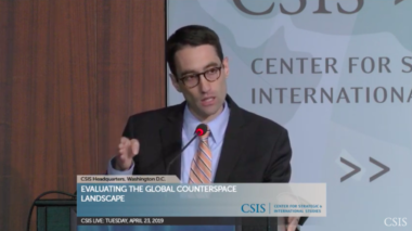 Stephen Kitay, deputy assistant secretary of defense for space policy, Credit: CSIS