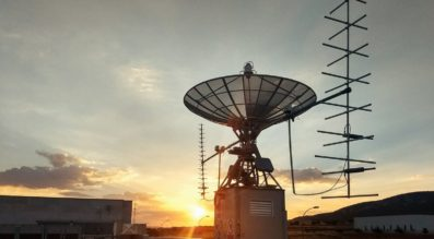 Leaf Space hopes to have ground stations in 12 locations by late 2020, up from four today. Credit: Leaf Space