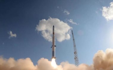 OneSpace's OS-M rocket failed less than a minute after its March 27 liftoff. Credit: OneSpace