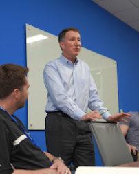 Kent Rominger, Northrop Grumman vice president for OmegA capture. Credit: Northrop Grumman