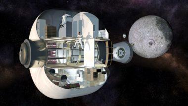A cutaway illustration of the habitat's three-floor interior. Credit: Sierra Nevada Corp.