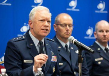 Air Force Lt. Gen. John Thompson. Credit: Keith Johnson