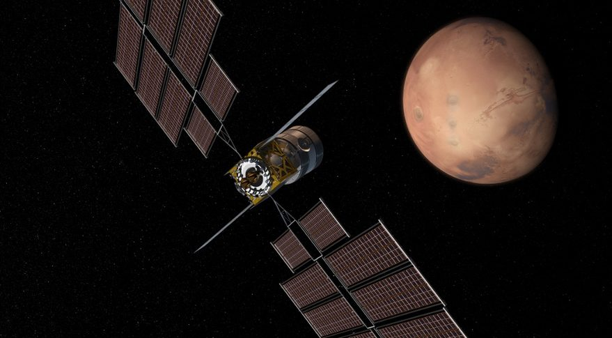 Boeing Deep Space Transport Mars