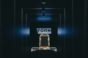 The U.S. Army plans to conduct the first on-orbit demonstration of York Space Systems' S-class small satellite through the Harbinger mission. The satellite is slated for launch in late April or early May on the Rocket Lab Electron launch vehicle. Credit: York Space Systems