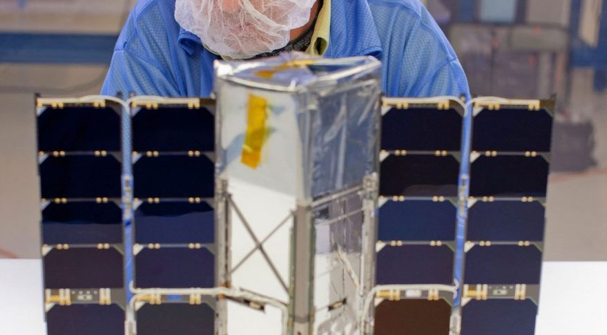Blue Canyon Technologies  built and operated a three-unit cubesat for Johns Hopkins University's Applied Physics Laboratory as part of a NASA program called Radiometer Assessment using Vertically Aligned Nanotubes (RAVAN). The RAVAN program demonstrated a technique for measuring Earth's outgoing solar radiation. Credit: Blue Canyon Technologies