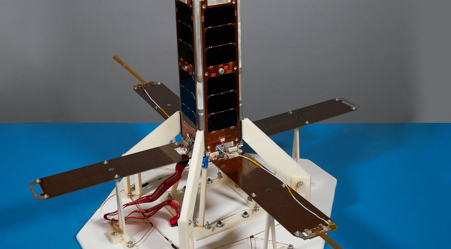Vector filed a lawsuit April 5 against Lockheed Martin, claiming the aerospace giant infringed on three patents related to GalacticSky, Vector's software-defined satellite technology. This image shows Vector's GalacticSky-1 prototype in the company's clean room. It is slated to launch this year. Credit: Vector