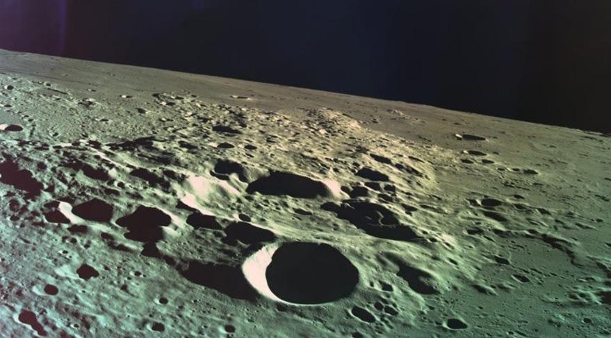 SpaceIL Beresheet last image moon