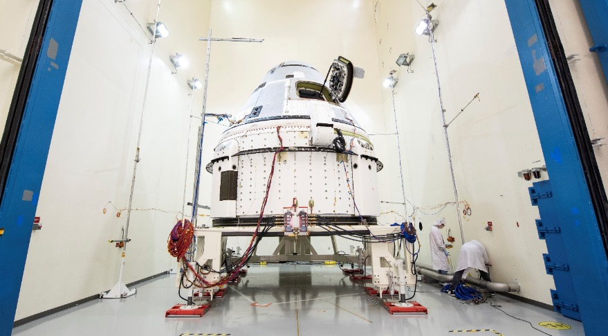 CST-100 Starliner environmental test