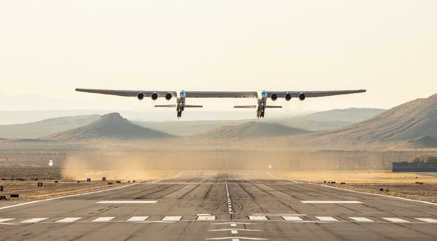 Stratolaunch takeoff