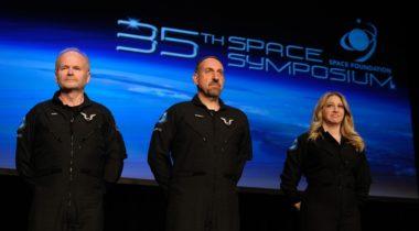 Virgin Galactic astronauts