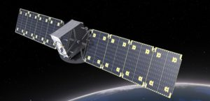 Telecom satellites in geostationary orbit usually weigh thousands of kilograms. Companies like Astranis are designing geostationary communications satellites weighing hundreds of kilograms. Credit: Astranis