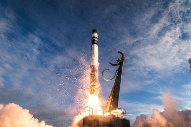 Of the 129 rocket startups recently tallied, only Rocket Lab — whose Electron rocket is shown above launching from New Zealand in December — has successfully conducted an orbital launch. Credit: Rocket Lab