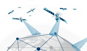 Lockheed Martin is investing in an electronically steered antenna that may change how it deploys a network of ground stations for communications with satellites. Credit: Lockheed Martin.