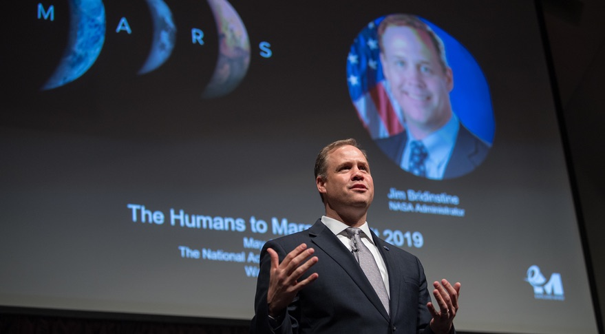 Bridenstine Humans to Mars 2019