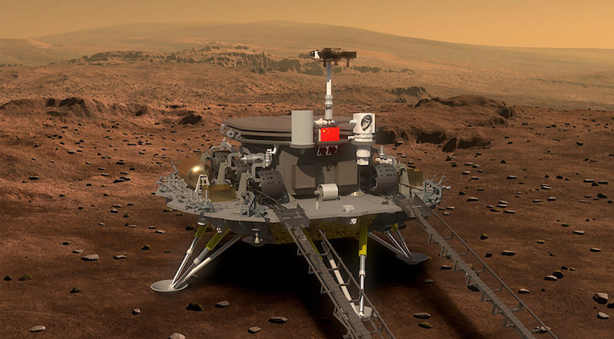Image result for China's Mars rover to launch in 2020