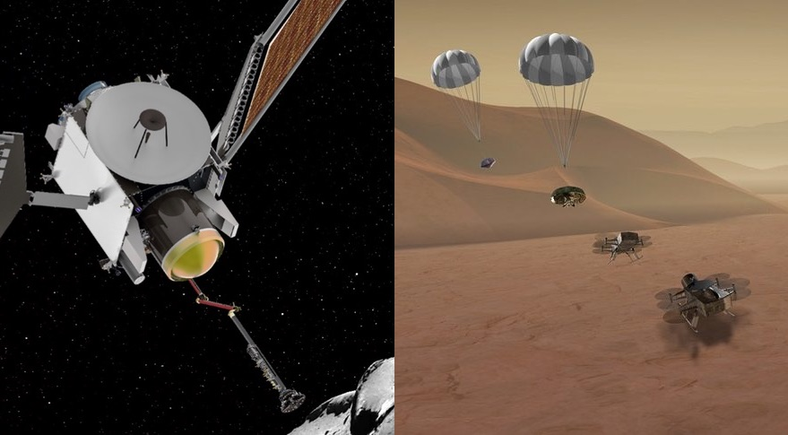 NASA selects planetary mission proposals large and small