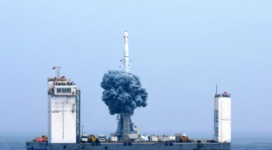 China makes progress on spaceport project for sea launches
